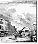 Norfolk, Virginia, 1856 Acrylic Print
