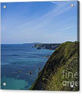 Photographs Of Cornwall North Coast Cornwall Acrylic Print