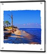 North Florida Beach Acrylic Print