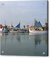 North Sea Fishing Acrylic Print