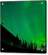 Northern Lights - Aurora Borealis - Substorm Acrylic Print