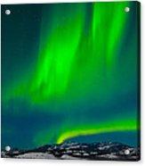 Northern Lights Or Aurora Borealis Acrylic Print