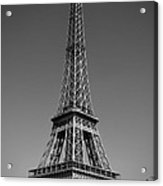 Not A Cloud In Paris Acrylic Print