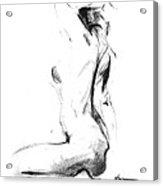 Nude 006 Acrylic Print