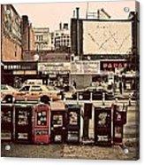 Nyc Street Scene Acrylic Print