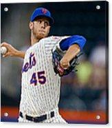 Oakland Athletics V New York Mets Acrylic Print