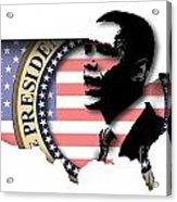 Obama-2 Acrylic Print