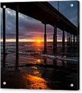 Ocean Beach Pier 2 Acrylic Print