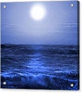 Ocean Blues Acrylic Print