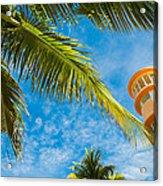 Ocean Drive Acrylic Print