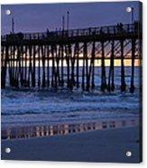 Oceanside Pier Sunset Acrylic Print