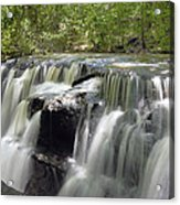 Odom Creek Waterfall Georgia Acrylic Print