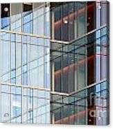 Office Building Windows Acrylic Print