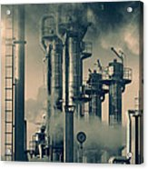 Oil And Gas Power Industry Acrylic Print