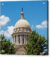 Oklahoma State Capital Dome Acrylic Print