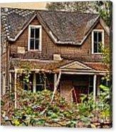 Old Abandon House Acrylic Print