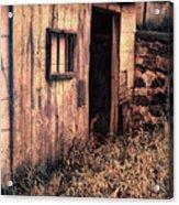Old Barn Door Acrylic Print