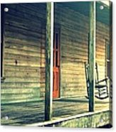 Old Country Front Porch Acrylic Print