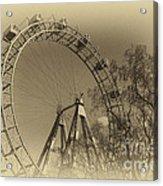 Old Ferris Wheel Acrylic Print