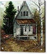 Old Homestead Acrylic Print