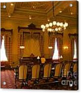 Old House Of Delegates Room Of The Maryland State House Acrylic Print