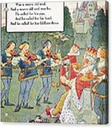 Old King Cole Acrylic Print