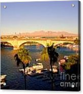 Old London Bridge Acrylic Print