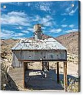 Old Mine On Old Toll Road In Death Valley Acrylic Print