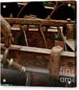 Old Farm Machine Acrylic Print