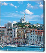 Old Port Of Marseille Acrylic Print
