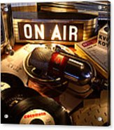 Old School Radio Acrylic Print