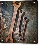 Old Spanners Acrylic Print