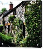 Old Terrace Houses - Peak District - England Acrylic Print