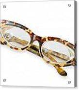 Old Tortoise Eyeglasses Acrylic Print