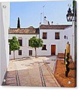 Old Town In Cordoba Acrylic Print
