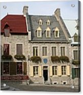 Place Royale - Old Town Quebec - Canada Acrylic Print