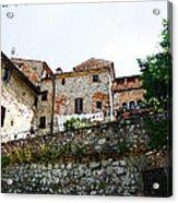 Old Towns Of Tuscany San Gimignano Italy Acrylic Print