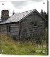 Old Wooden Cabin  Acrylic Print