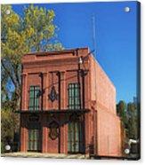 Oldest Masonic Lodge In California Acrylic Print