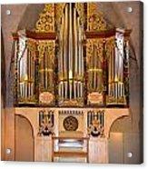 Oldest Organ Acrylic Print