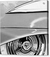 Oldsmobile 98 Wheel Emblem Acrylic Print