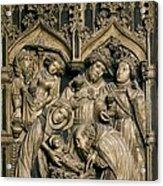 Oller, Pere 15th Century. Altarpiece Acrylic Print