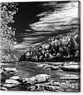On The River Acrylic Print