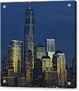 One World Trade Center At Twilight Acrylic Print