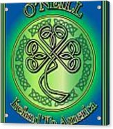 O'neill Ireland To America Acrylic Print