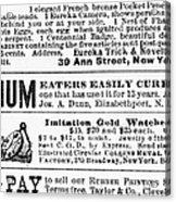 Opium Habit Cure, 1876 Acrylic Print