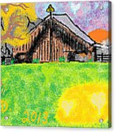 Oregon Acrylic Print by Joe Dillon