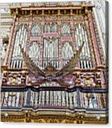 Organ In Cordoba Cathedral Acrylic Print