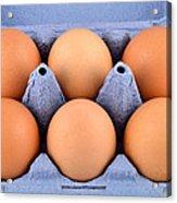 Organic Eggs Acrylic Print