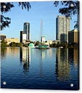 Orlando Fl Skyline Acrylic Print